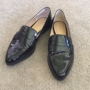 Michael Kors Patent Pointy Toe Loafers 6